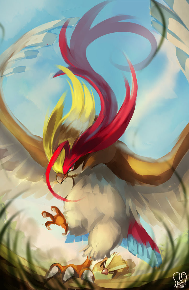 Pokemon Mega Pidgeot Omega Ruby And Alpha Sapphire Fan Art