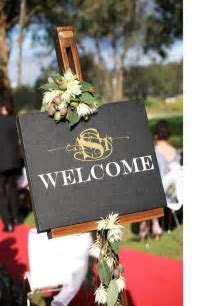 18 best Welcome Board images on Pinterest   Wedding decor