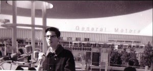 15 year-old David Oats speaks to the GE Time Capsule's lowering into the former landfill that bore not one but two World's Fairs. (October 16, 1965)