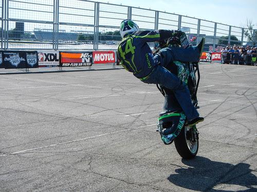 XDL Stunt Show @ Indianapolis MotoGP 2013