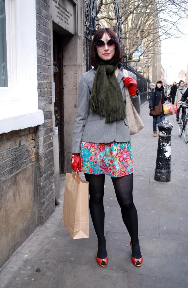 The Flower Skirt