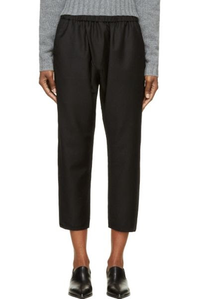Studio Nicholson Cropped Wool Fulton Pants