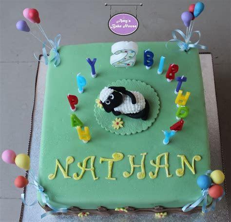 Shaun The Sheep Birthday Cake   Amy's Bake House