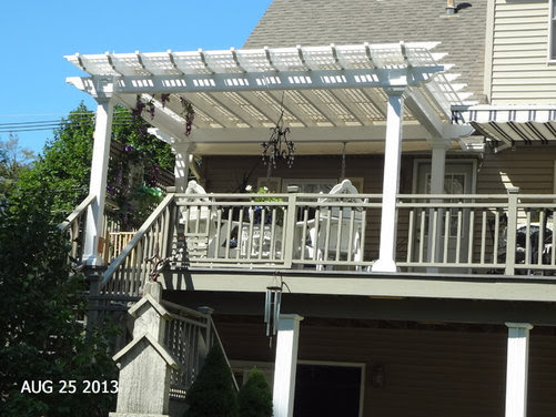 Need more shade on pergola! - Houzz