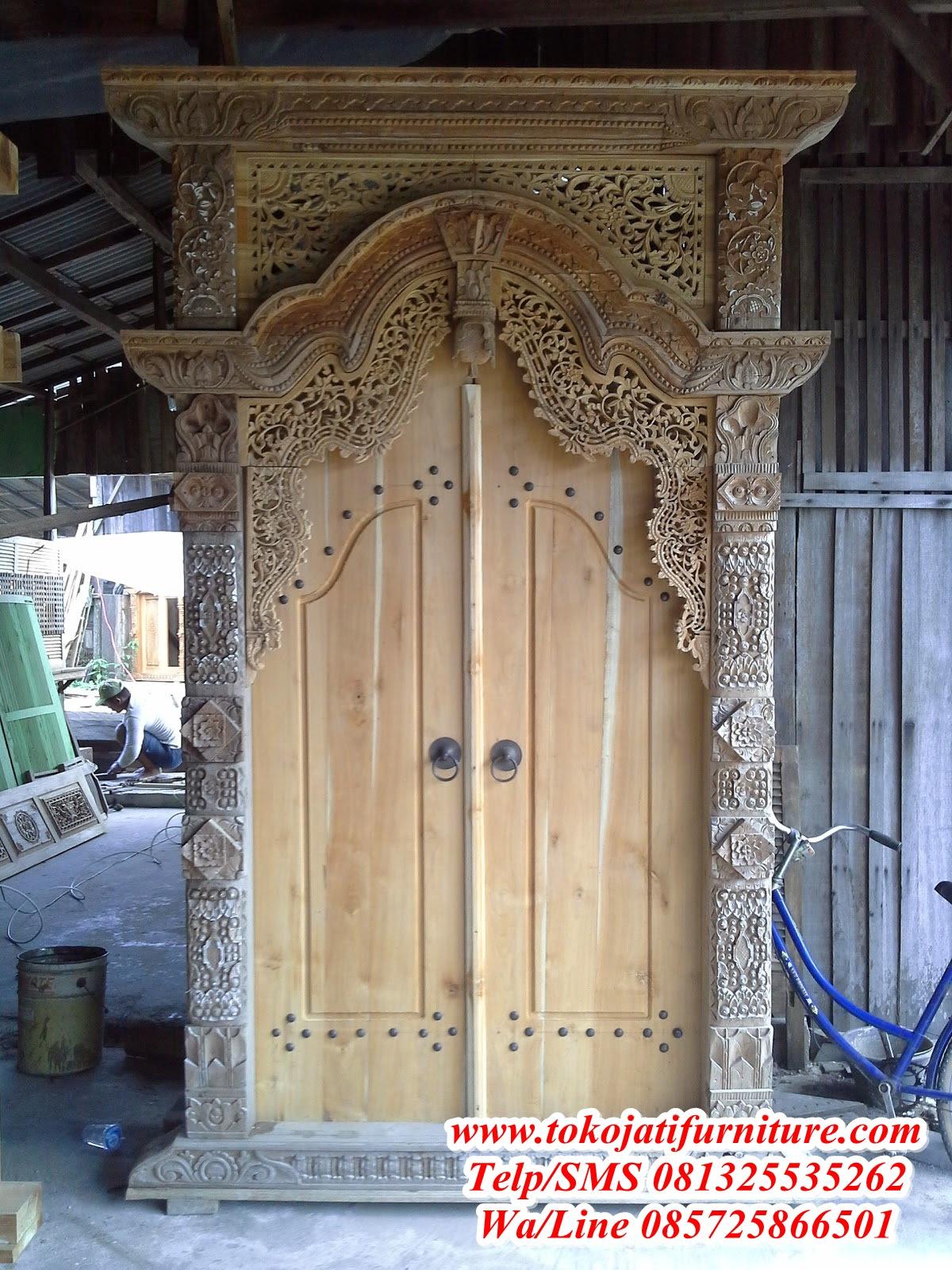 Koleksi Denah Rumah Gebyok Jawa 2020