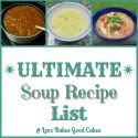 The Ultimate Soup Recipe List ~ Linky Party