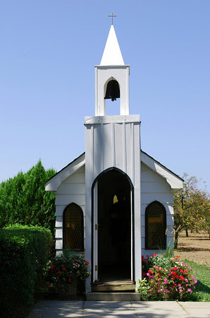 The Living Water Wayside Chapel on the Niagara Parkway