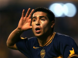 Riquelme regresa al Boca Juniors. Foto tomada: eliminatorias-sudafrica2010.com