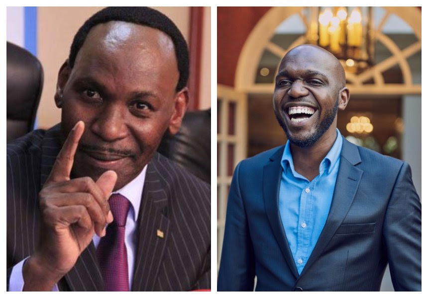 """Get a wife chief"" Drama as Ezekiel Mutua and Larry Madowo tear into each other"
