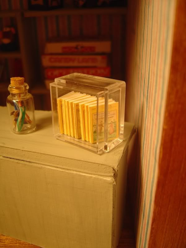 miniature little house books