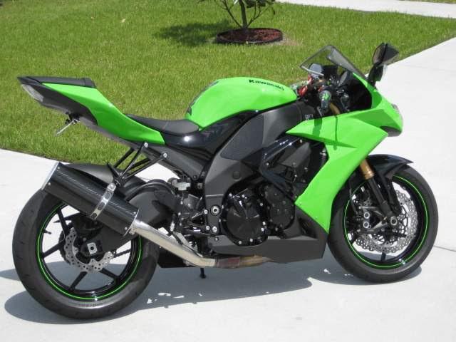 Kawasaki Ninja 250r Slip On Exhaustfull System Area P