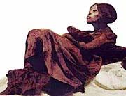 A Peruvian red-headed mummy
