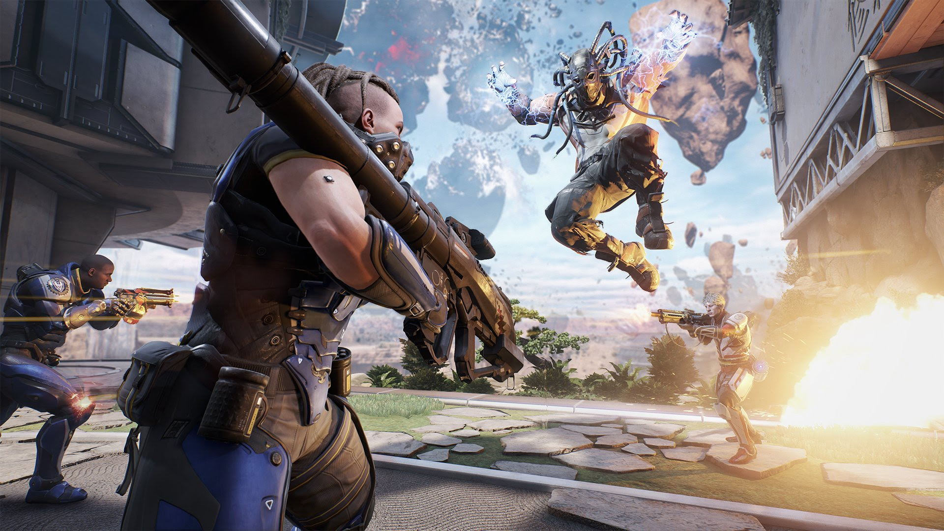 PSA: LawBreakers suffers from stuttering on PS4 screenshot