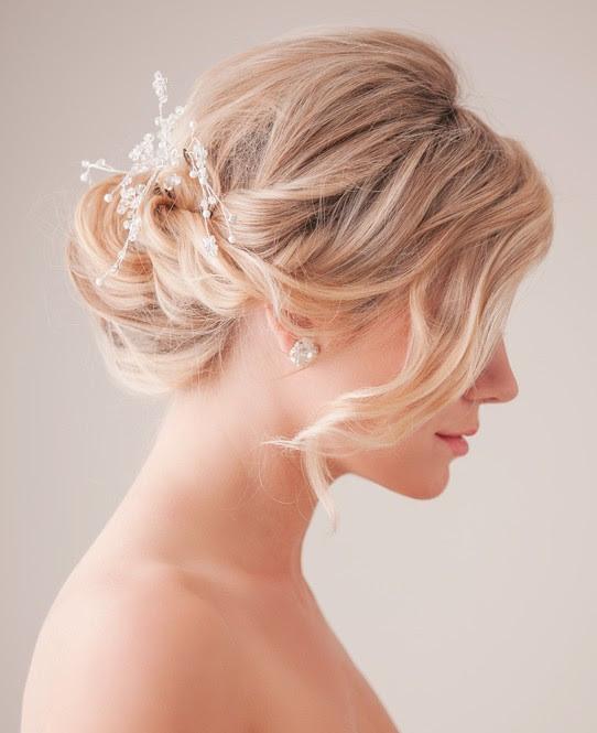 Bridal  Updo  Hairstyle  Tutorial Wedding  Hairstyles  Ideas