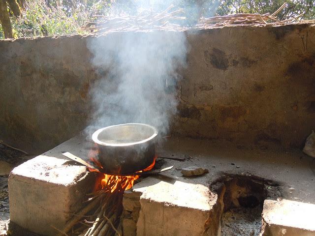 Brahmagiri_Trek_Forest_Rest_House_Cooking