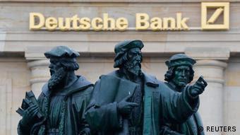 Deutsche Bank Zentrale in Frankfurt (REUTERS)