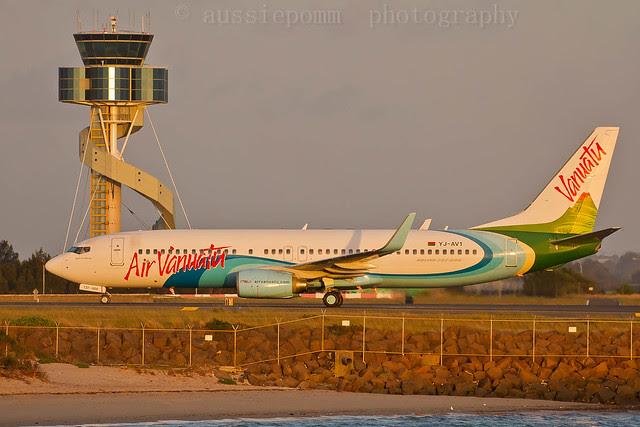 YJ-AV1 B738 Air Vanuatu