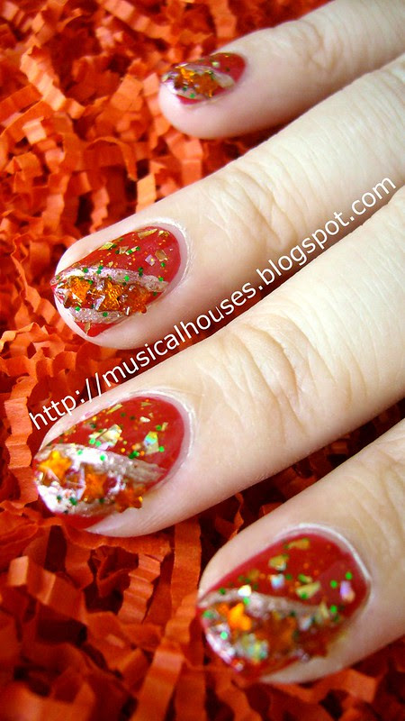 chinese new year nail art 2