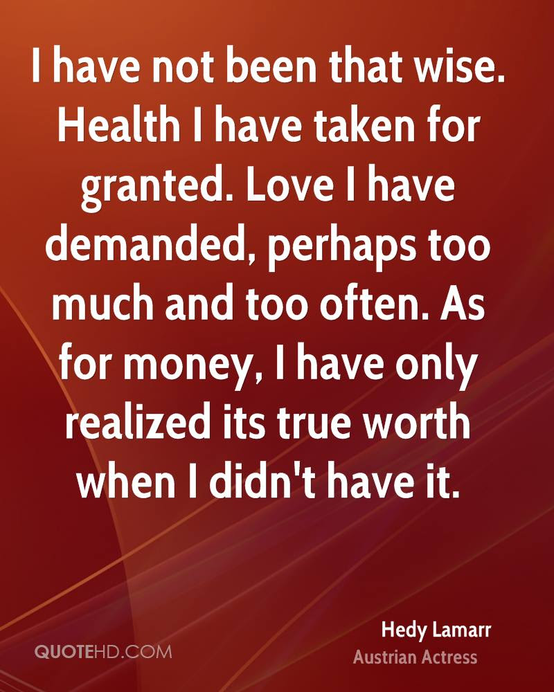 Hedy Lamarr Money Quotes Quotehd