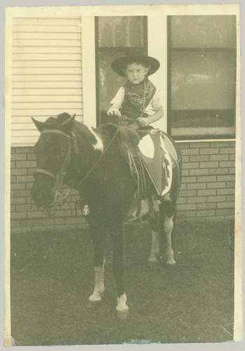 Boy on a pony