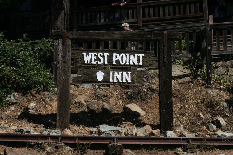 West Point Inn Sign