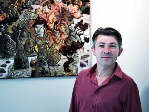 portrait C.Ronel/painter