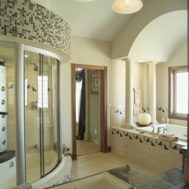 Home Bathroom Shower Ideas – House Plans and More
