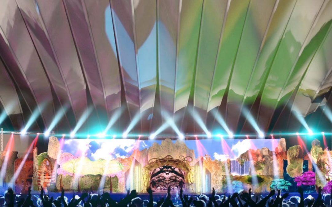 Resultado de imagen de escenario carnaval tenerife 2018