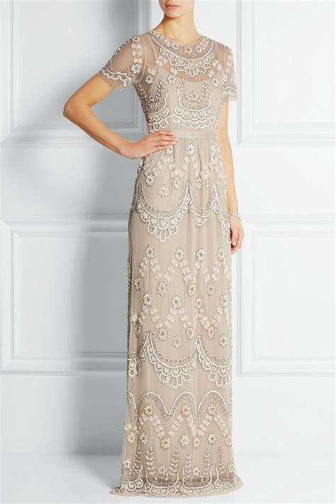 BHLDN Needle & Thread Tiered Petal Dress Size 0 Wedding