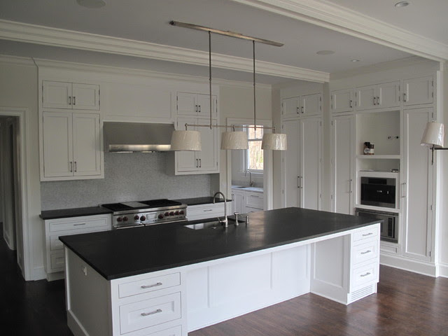 Modern Kitchen Remodel in an Old House  Door 13 Architects