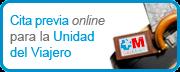 Cita previa online para la Unidad del Viajero