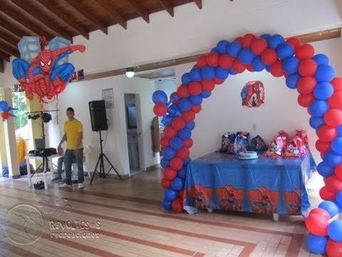 Decoracion con globos del hombre ara a decoraci n for Decoracion del hogar en medellin