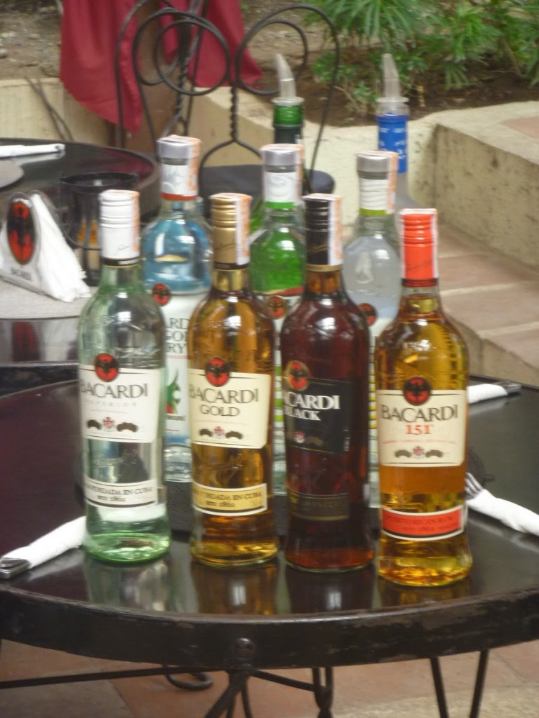 Bacardi's signature rums