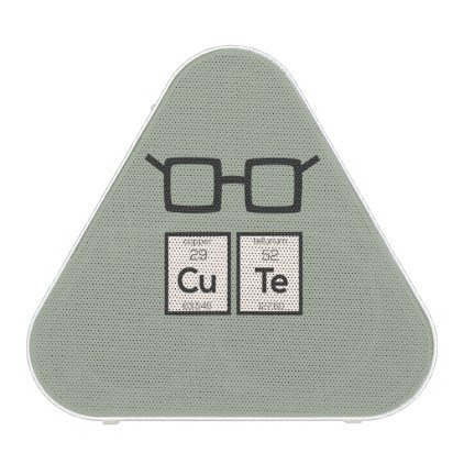 Cute chemical Element Nerd Glasses Zwp34 Bluetooth Speaker