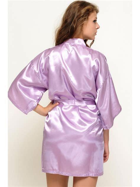 Lavender Bridal Robes Cheap Bridesmaid Gifts