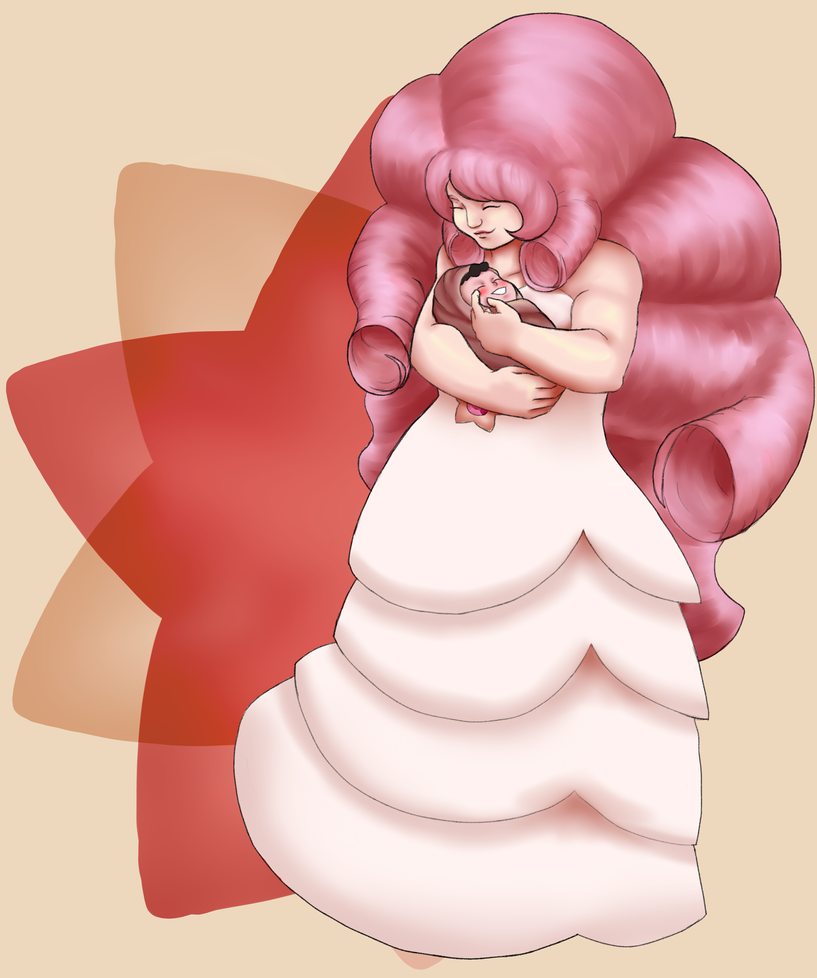 I've been re-watching SU and I still don't understand Rose's hair XD