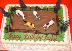 Horse Birthday Party Supplies On Images Of Cake Pony Cowboy Ideas Wallpaper