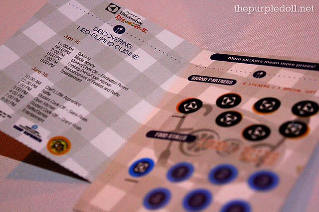 Electrolux Discover E Food Festival Passport