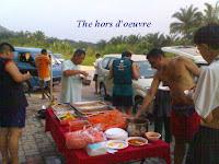 Pre-ceremony food