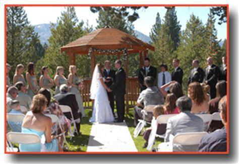 Tahoe Paradise Park Weddings   Lake Tahoe Wedding Venue