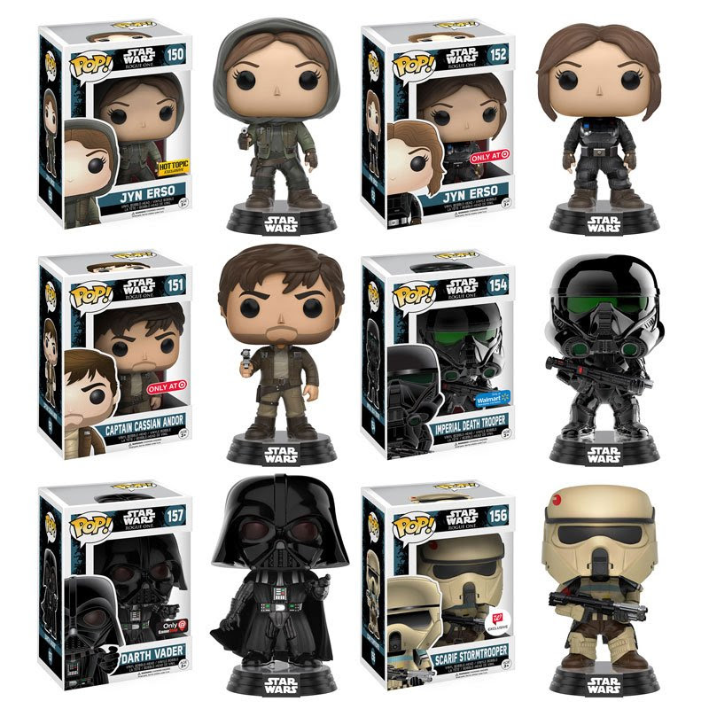 Rogue One Funko Pop Glam Shots | Anakin and His Angel
