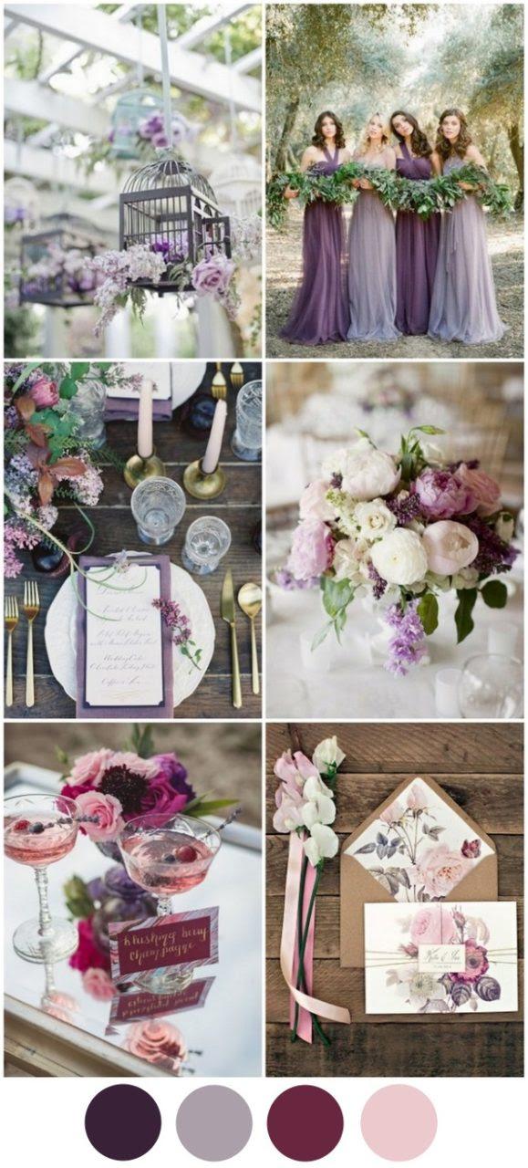 4 Fabulous Wedding Colour Schemes for A/W 2016/2017 ...