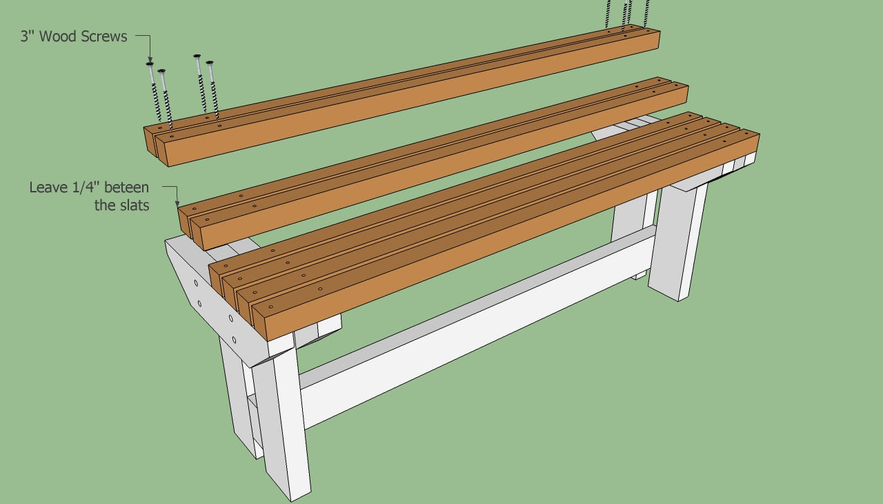 Proy Wood Choice Park Bench Seat Plans
