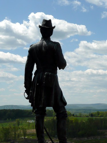 General Warren Memorial on Little Round Top by RV Bob