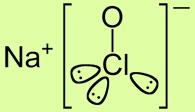 Formula dell' Ipoclorito di Sodio