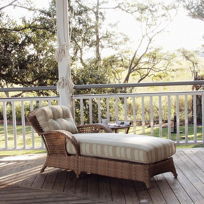Outdoor Patio Rolston Wickerchaise Lounge Best Homes