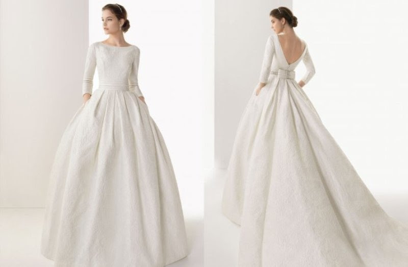 New Cheap Wedding Dresses: Wedding dresses with sleeves pinterest