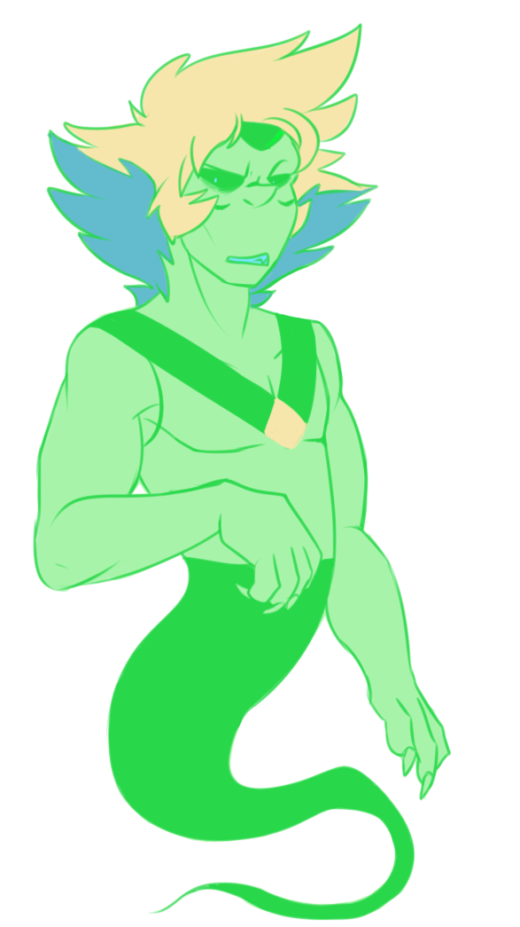 Anonymous said: 😭 Lapis and a ghost peri pretty pls!!\\ Answer: