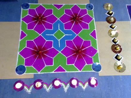 Rangoli Designs Flower Patterns Myspace Hi5