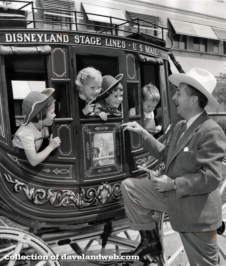 All Aboard the Disneyland Stagecoach